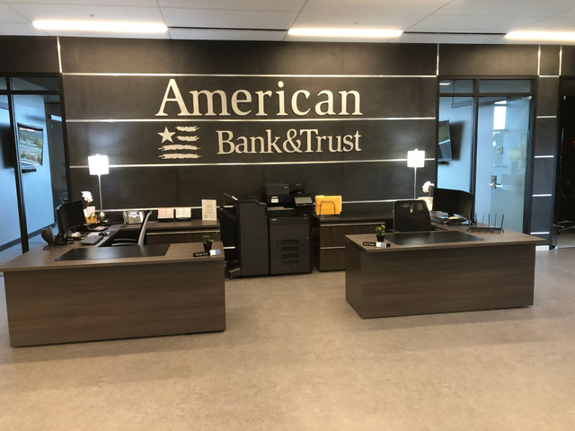 American Bank & Trust Reception