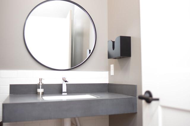 Love & Warden sink mirror